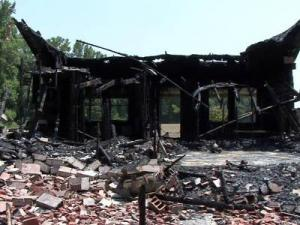 Johnston County authorities believe an Oct. 8, 2010, fire at a foreclosed house in Four Oaks was the latest in a string of arsons in the county.