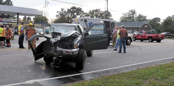 Tiffani Jobe, 17, of Henderson was critically injured in a two-vehicle wreck at N.C. Highway 39 and Epsom Rocky Ford Road on Thursday, Oct. 14, 2010. (Photo courtesy of the Daily Dispatch of Henderson)