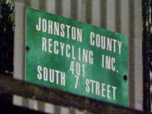 Monday morning's fire at Johnston County Recycling Inc. marked the 35th suspicious fire in the past 12 months, according to Smithfield, Clayton and county officials who are investigating the blazes.
