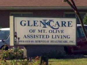 Five residents at the Glen Care of Mount Olive assisted living center died after contracting hepatitis B between August and November 2010.