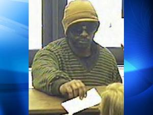 Surveillance video of a suspect in the Oct. 19, 2010, robbery of a First Citizens Bank in Raleigh.