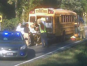 Fayetteville police are investigating a crash involving a school bus on Shaw Road near Fuji Drive.