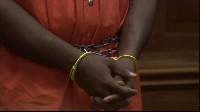 Handcuffs, prisoner