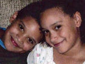 Alex and Alyssa Allen, 7-year-old twins