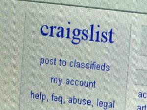 Craigslist screen shot