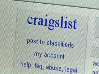 Craigslist screen shot