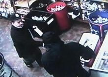 Gaston Food Mart robbery surveillance video