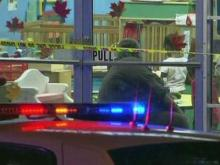 Two shot outside Durham store