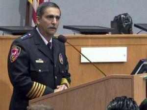 Durham Police Chief Jose Lopez Sr.