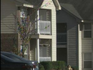 Residents of a Legion Road apartment complex were warned Wednesday after a woman was attacked.