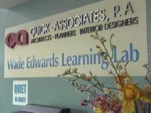 The Wade Edwards Learning Lab was established to provide after-school activities and computer time to Raleigh high school students.
