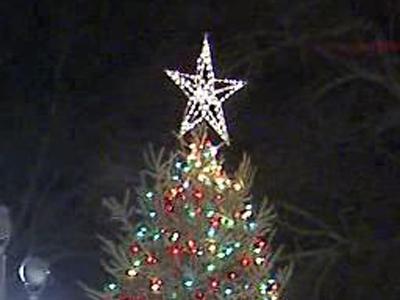 N.C. Christmas tree lighting