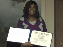Fayetteville State valedictorian missed school for medical problems