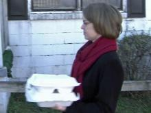 Dinner delivery brings holidays to the lonely