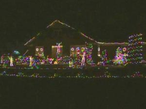 The light show at the Jefferys uses more than 20,000 bulbs.