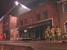 Rocky Mount business burns down
