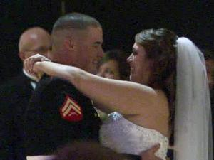 "Ashley Runfola -- ""Ashley Runfola Hoffman, now!"" the bride said -- is the fourth generation of women in her family who have started a new year with a new life and a new name. Marine Corporal Gerald Hoffman popped the question as the ball dropped last New Year's Eve. For the bride, setting a wedding date was an absolute no-brainer."