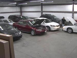It was crunch time last Friday at Raleigh Collision on New Bern Avenue. Workers were repairing triple the number of vehicles than normal, after snow and ice sent cars and trucks into trees and guardrails over the Christmas holiday weekend.