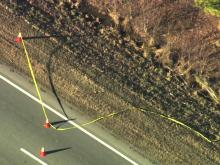 Authorities investigate pipe bomb along U.S. Highway 70