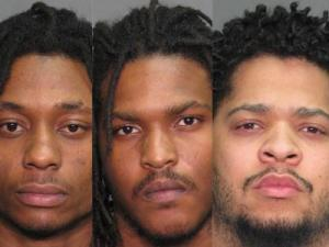 Maurice Jenkins, Emanuel Young and Rayshawn Austin