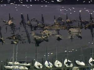 A Jan. 7, 2011, fire at McCotters Marina in Beaufort County injured three people and damaged at least 25 boats.