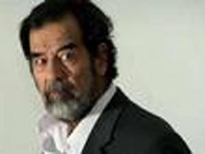 Saddam Hussein (photo from MGN service)