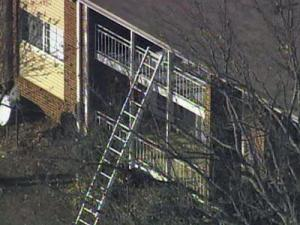 A Raleigh woman dropped her toddler from her third story apartment and into a group of bushes below when a fire broke out on Jan. 18, 2011.