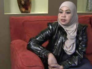 """""""Mrs. Mohamed"""" says she had to do whatever was necessary to save her young son and herself from a fire that tore through her Raleigh apartment building."""
