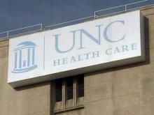 UNC Health Care sign