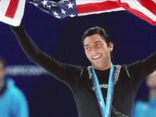 Evan Lysacek at Olympics