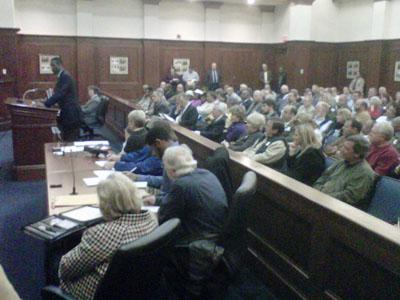 The Nash County Board of Commissioners met on Feb. 7, 2011.