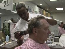 Barber sees work as his art