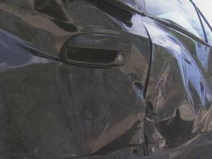 Four cars were damaged in a wreck at Fayetteville's Raeford and Skibo roads that police say was caused by a drunk driver.