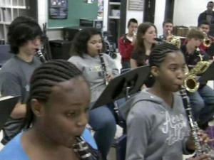 About 90 students from Hoke County High School in Raeford will make the trip to D.C., and for many of them, marching in the national spotlight will be the highlight of their high school career.
