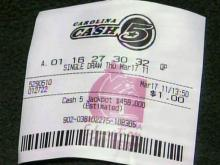 Lottery ticket, Carolina Cash 5