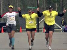 Iraq vet runs marathons to feel alive