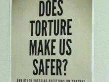 Torture is top at Duke conference