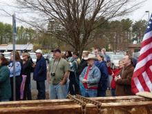 World Trade Center beam arrives in Chatham County