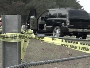 Investigators said Frances Marie Del Valle Sanchez, 21, and her ex-husband were traveling south together on the freeway in a black GMC Yukon on Monday afternoon when they got into a minor wreck, spun out of control and ended up in the median. When police arrived on the scene, they found Sanchez lying outside the vehicle. She had been shot in the head.