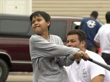 Fun and games help young tornado victims cope with loss