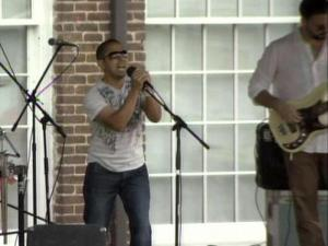 A Raleigh condominium community partnered with the Red Cross Sunday to host a benefit concert for victims of the April 16 tornadoes.