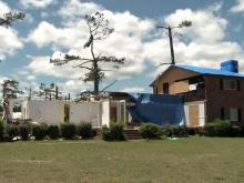 Linden man recovers after being pinned by tornado debris