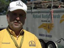 NC Baptist Men helping tornado victims for free