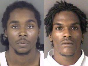 Terrell Orlando Boykin, 19, and Rodriguez Odell Harris, 23, both of Fayetteville, (left to right) were shot at 3921 Donna St. early Sunday, May 8, 2011. Harris was killed. Boykin's condition was not released.