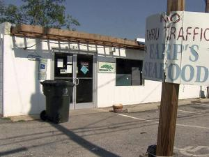 Earp's Seafood Market has reeled in customers for 43 years, but the building was condemned after it sustained severe damage in the April 16 storm.