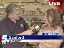 Siler City woman helps Sanford victims