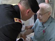 Clayton veteran receives decades-overdue bronze star