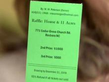 Two years later, Roxboro woman calls off house raffle