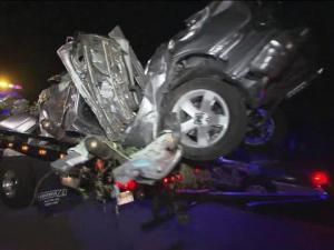 Three teens were killed and a fourth was critically injured in a car crash at the intersection of Old Pearce and Zebulon roads near Wake Forest Sunday night, June 5, 2011, according to the state Highway Patrol.