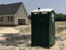 Stedman man charged with torching portable toilets